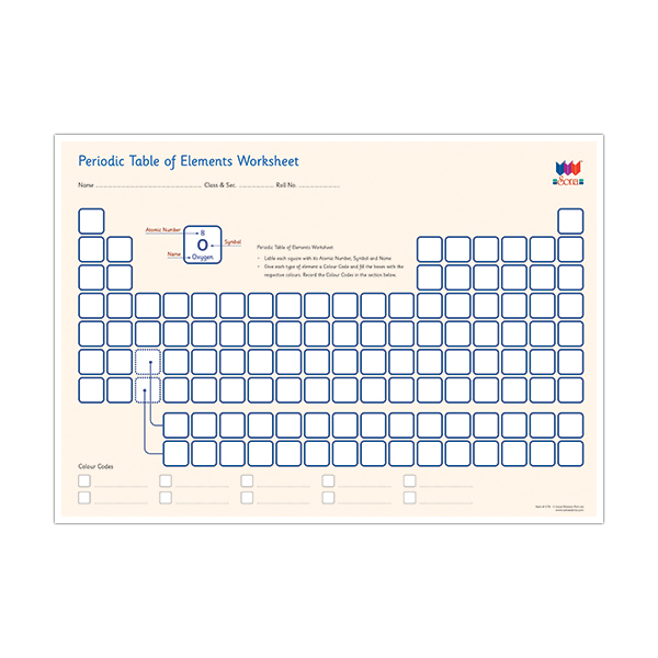 Periodic table of elements worksheet sona edons periodic table of elements worksheet urtaz